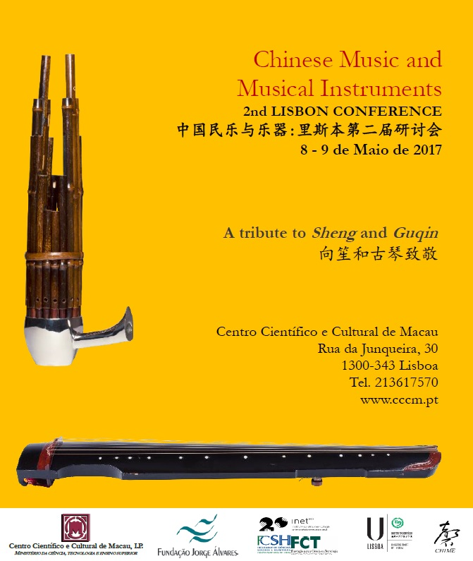 Cartaz Chinese Music and Musical Instruments 2nd